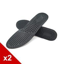 糊塗鞋匠 優質鞋材 C155 蜂窩透氣運動鞋墊 (2雙)