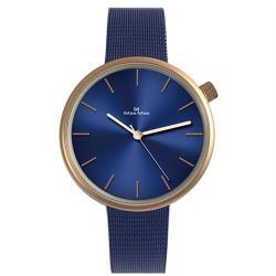 【Max Max】簡約復古文青米蘭帶腕錶 -藍(MAS7026-4)