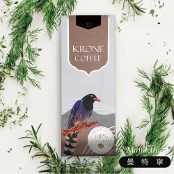 Krone皇雀 印尼曼特寧咖啡豆227g(2袋) 限量送聖誕派對杯防燙隔熱紙杯(5入)
