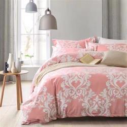 【幸運草】獨家花版 尊榮100%萊賽爾天絲加大四件式兩用被床包組
