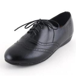 【88%】夏日必備純色百搭跟高1.5cm低跟牛津鞋