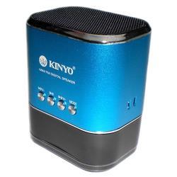 KINYO 高容量電池FM讀卡喇叭