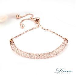 DINA JEWELRY蒂娜珠寶  藏鑽設計 造型手鍊 (WM9707)