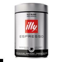 illy意利 重烘焙espresso阿拉比卡咖啡粉250g