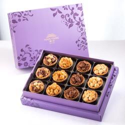 漢坊 臻饌禮盒-2盒組 (綜合堅果塔 12入/盒)紫
