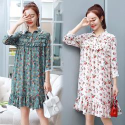 韓國K.W. 風姿綽約森林系洋裝