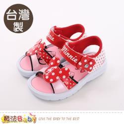 魔法Baby 男童鞋 台灣製迪士尼米妮正版涼鞋~sk0464
