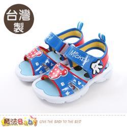 魔法Baby 男童鞋 台灣製迪士尼米奇正版涼鞋~sk0461