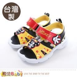 魔法Baby 男童鞋 台灣製迪士尼米奇正版涼鞋~sk0460