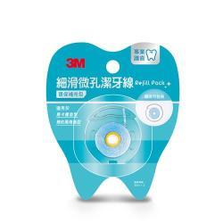3M 細滑微孔潔牙線環保補充包 35mx3入