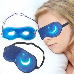 兩用冷熱敷蠶絲眼罩