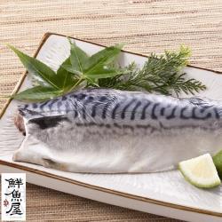 鮮魚屋 嚴選正宗挪威薄鹽鯖魚(2L)220g*16片