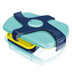 【法國Maped】輕鬆開兒童子母餐盒1.78L-聰明藍