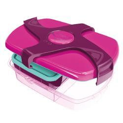 【法國Maped】輕鬆開兒童子母餐盒1.78L-熱情紫