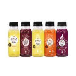 純在 冷壓鮮榨蔬果汁-樂活元氣組 (235ml/瓶-共15瓶)
