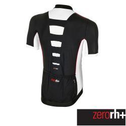 ZeroRH+ 義大利 Wader 男仕專業競賽自行車衣(黑/白) ECU0408_903