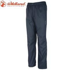 【Wildland 荒野】中性防風防潑水長褲共3色