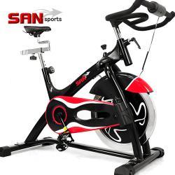 SAN SPORTS 黑爵士23KG飛輪健身車