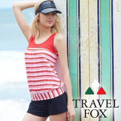 旅狐TRAVEL FOX 大女長版三件式泳衣C18706