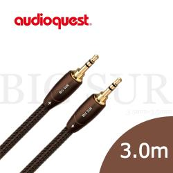 美國線聖 Audioquest BIG SUR (3.5mm to 3.5mm) 訊號線 3.0M/公司貨