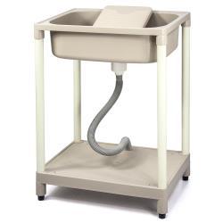 Aaronation - 新型單槽塑鋼水槽 洗衣槽 - GU-A1011