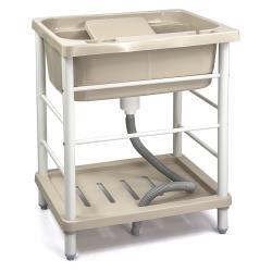 Aaronation - 新型大單槽塑鋼水槽 洗衣槽 - GU-A1006