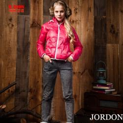 JORDON 女款超輕 亮彩羽絨外套