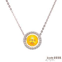 Jcode真愛密碼 滾滾錢來黃金/純銀項鍊