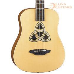 美國 LUNA 三位一孔 全桃花心木 36吋旅行吉他 SAF TRI
