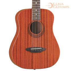 美國 LUNA 繆斯 全桃花心木 36吋旅行吉他 SAF MUS MAH