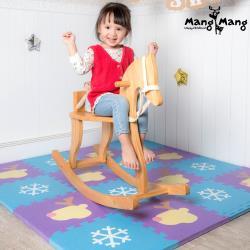 Mang Mang 小鹿蔓蔓 寶貝安全防護地墊(雪片小鹿)