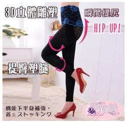 莎莉絲 420丹超顯瘦S魅力機能纖腰翹臀內搭束褲(超值2+2件)