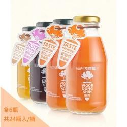 VDS活力東勢-活力舞彩胡蘿蔔綜合蔬果汁 290ml (24瓶/箱)