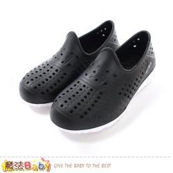 魔法Baby 女鞋 超輕量水陸兩用休閒洞洞鞋 sd7026