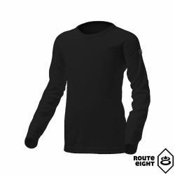 Route8 童 WARM 圓領保暖衣 (黑色)