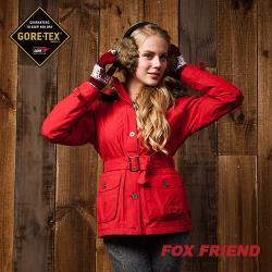 【FOX FRIEND 】都會風格 女款 GORE-TEX單件式外套