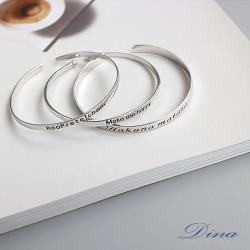 DINA JEWELRY 蒂娜珠寶  SIGN記憶 925純銀手環 (HFH62853)