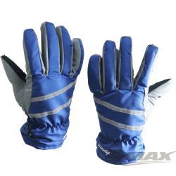 OMAX防風防水止滑手套-男款-藍色