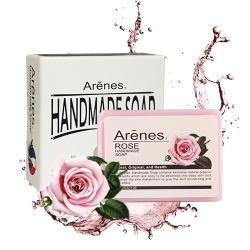 【限時活動】Arenes玫瑰香氛植萃手工皂100g