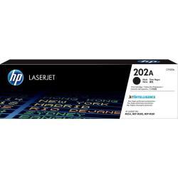 【HP 惠普】202A 黑色原廠雷射碳粉匣(CF500A)