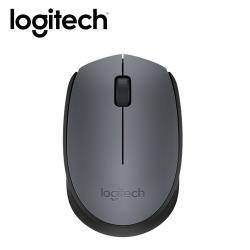 【logitech 羅技】 M171 無線滑鼠 灰黑