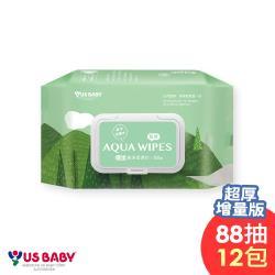 優生純淨柔濕巾88抽x12包-超厚型