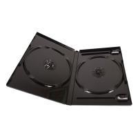 EXCH 雙片DVD精裝優質軟盒/黑色  2箱(100PCS*2)    DVD-02-100