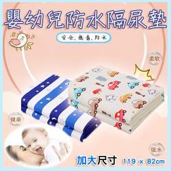 易麗特  嬰幼兒防水隔尿墊 119x82cm (4入)