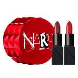 NARS 紅色放蕩迷你 唇彩組2.3gX2支 (Mona土色+Rita大紅色) 經典熱賣色 (限量)