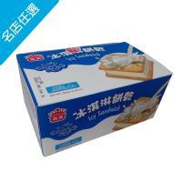 【義美】牛奶冰淇淋餅乾家庭號(75gX4個/ 盒)
