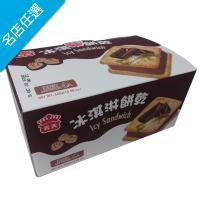 【義美】巧克力冰淇淋餅乾家庭號(75gX4個/ 盒)