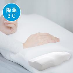 澳洲Simple Living  3D護頸型降溫慢回彈零感記憶枕-一入(台灣製)