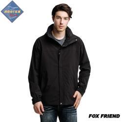 FOX FRIEND 男款防水防風透氣+羽絨兩件式外套 371  最大到5L