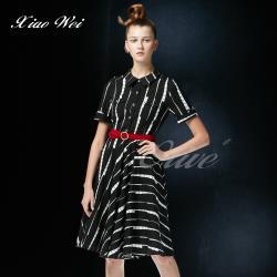 CHENG DA 春夏專櫃精品女裝時尚流行短袖洋裝NO.020180